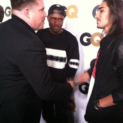 FRANK OCEAN AND WILLY CARTIER