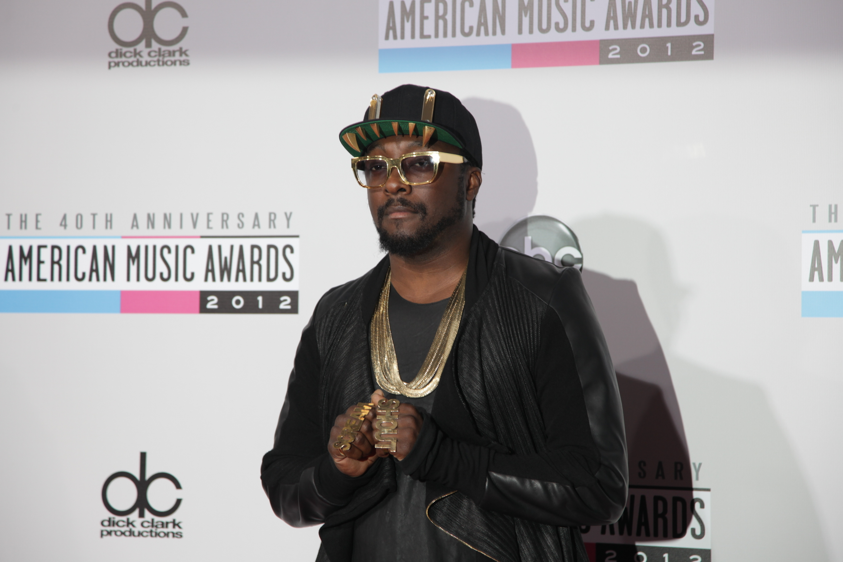 will i am ama 2012 American Music Awards 2012: Red Carpet