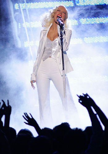 From The Vault: Christina Aguilera   Its A Mans World  (Live At Grammy Awards 2007)