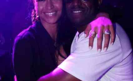 Hot Shots: Cassie Celebrates Rico Love's B'day At Bamboo