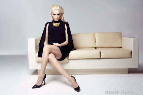 1111600006996905e0 orh750w480 Gwen Stefani Gallery4 Hot Shots:  Gwen Stefani Strikes A Pose For Marie Claire UK