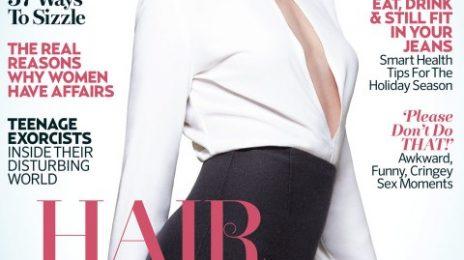 Hot Shots:  Gwen Stefani Strikes A Pose For 'Marie Claire UK'