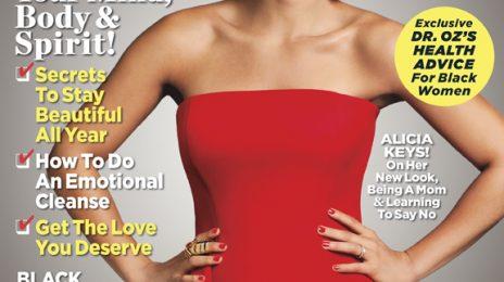 Hot Shots:  Alicia Keys' Hot 'Essence' Magazine Spread