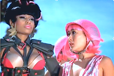 Nicki Minaj: 'Beez In The Trap' Outsells Madonna's 'Give Me All Your Luvin'.