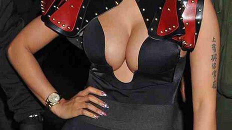 Hot Shot: Nicki Minaj Steps Out For Webster Hall Gig