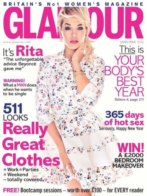 Stunner: Rita Ora Covers Glamour