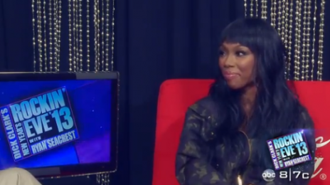 Watch:  Brandy Reflects on 2012, Dishes On 'New Years Rockin Eve' Performance