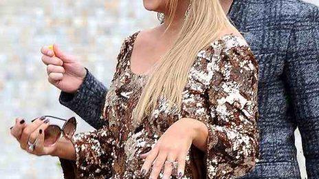 Hot Shots: Mariah Carey & Nicki Minaj Shoot 'Idol' In Hollywood