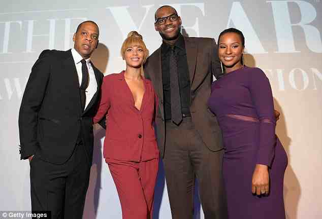Hot Shots: Beyonce & Jay Z Beam At Sports Illustrated Gala