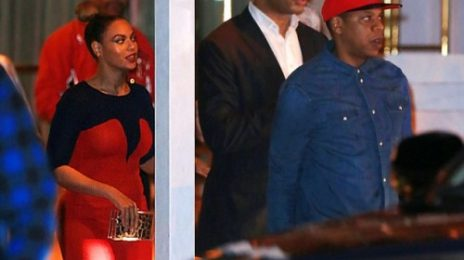 Hot Shots: Beyonce & Jay-Z Dine With Kelly Rowland & The-Dream In Miami
