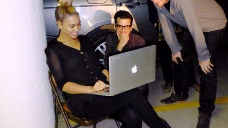 "Hot Shot: Beyonce Gets Back To ""Work"""