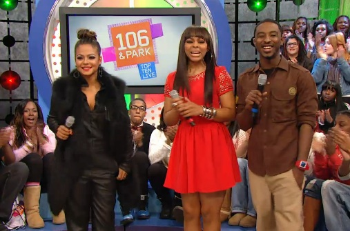 christina millian 106 park Watch: Christina Milian Guests On 106 & Park / Talks Return To Studio