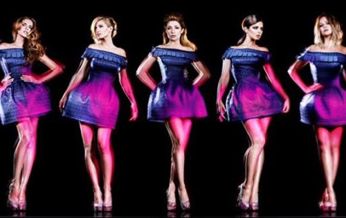 New Video: Girls Aloud   Beautiful Cause You Love Me