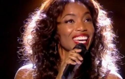 heather headley royal variety whitney houston e1354583061102 Must See: Heather Headley Sings Whitney Houstons I Will Always Love You At Royal Variety