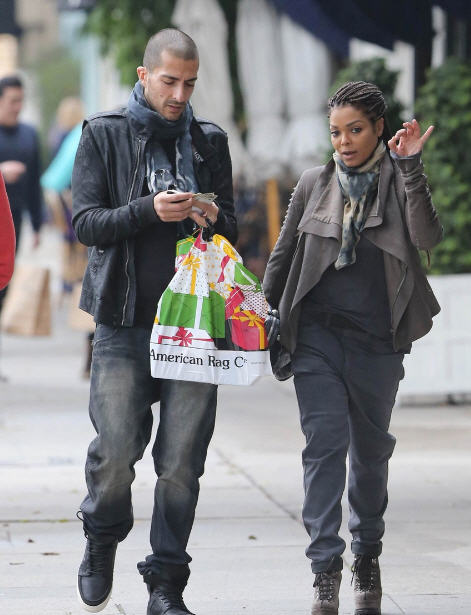 janet jackson rick owens thatgrapejuice Hot Shots: Janet Jackson & Wissam Al Mana Spotted In West Hollywood