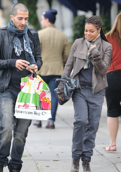 janet jackson wissam e1355926410932 Hot Shots: Janet Jackson & Wissam Al Mana Spotted In West Hollywood