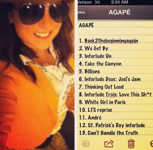jojo agape 2 e1355509223891 JoJo Unveils Agape Tracklisting / Splash Episode To Premiere Next Week