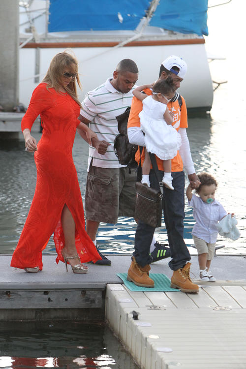 mariah carey babies australia Hot Shots: Mariah Careys Family Fun Down Under