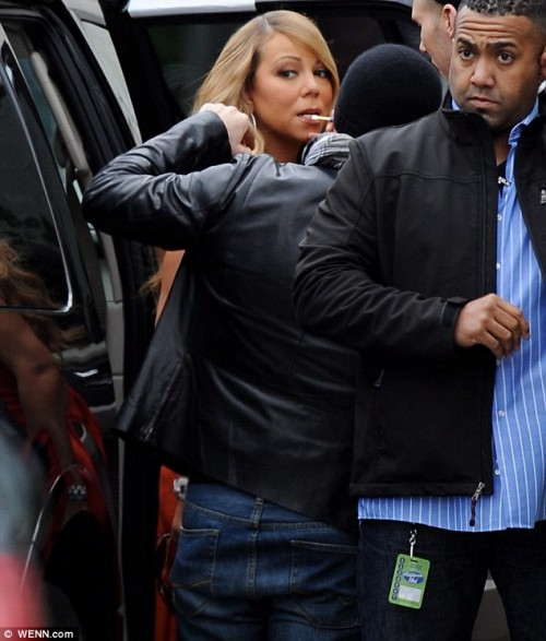 mariah carey idol 1 e1355411166357 Hot Shots: Mariah Carey Arrives At American Idol Auditions In LA