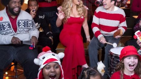 Watch: Mariah Carey Performs 'All I Want For Christmas Is You' On 'Fallon'