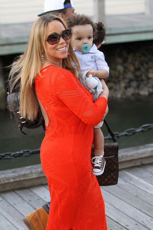 mariah carey moroccan Hot Shots: Mariah Careys Family Fun Down Under