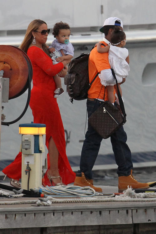 mariah monroe carey Hot Shots: Mariah Careys Family Fun Down Under