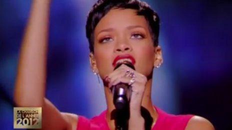 Watch: Rihanna Performs 'Diamonds' On 'La Meilleure Chanson'