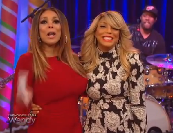 tamar braxton wendy williams love war Watch: Tamar Braxton Takes Love & War To The Wendy Williams Show