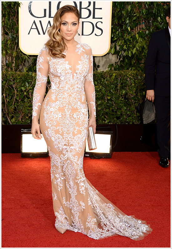 2013goldenglobes jenniferlopez002 Hot Shots:  Jennifer Lopez Gleams For Golden Globe Red Carpet