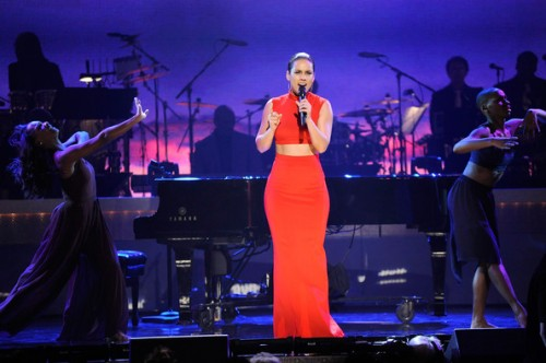 BET+Honors+2013+alicia keys 12 e1358076402928 Hot Shots: Brandy, Alicia Keys & More Perform At BET Honors 2013
