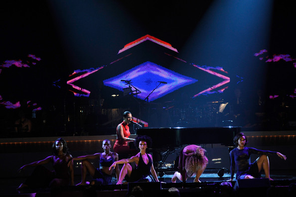 BET+Honors+2013+alicia keys main Hot Shots: Brandy, Alicia Keys & More Perform At BET Honors 2013