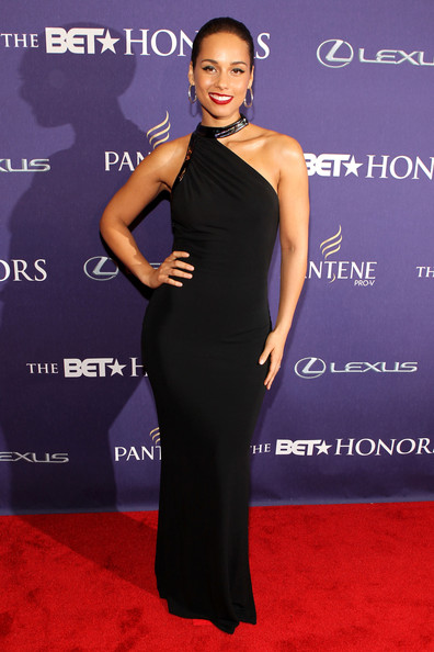 BET+Honors+2013+alicia keys sheisdiva BET Honors 2013: Kelly Rowland, Alicia Keys, & Luke James Rock Red Carpet