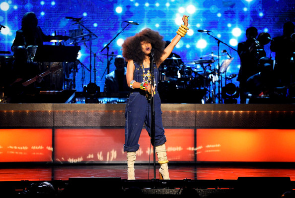 BET+Honors+2013+erykah Hot Shots: Brandy, Alicia Keys & More Perform At BET Honors 2013