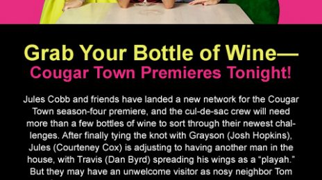 Sponsored: 'Cougar Town' Premieres Tonight On TBS At 10pm!