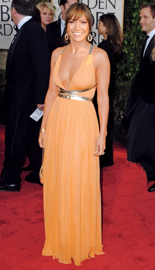 Jennifer Lopez 2004 Golden Globes Gown Kors Hot Shots:  Jennifer Lopez Gleams For Golden Globe Red Carpet