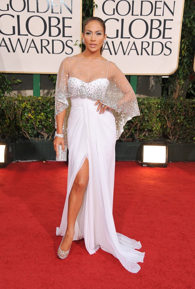 Jennifer Lopez expensive Golden Globes Hot Shots:  Jennifer Lopez Gleams For Golden Globe Red Carpet