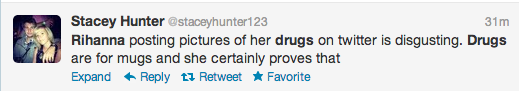 Screen Shot 2013 01 03 at 17.22.24 Rihanna Blasted For Drug Endorsement