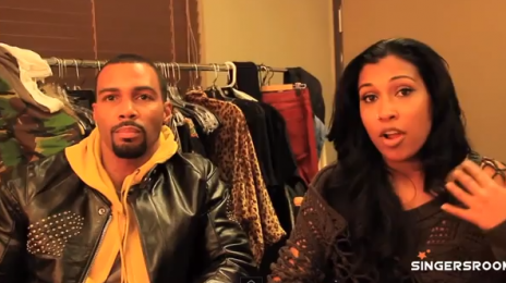 Behind the Scenes:  Melanie Fiona's 'Wrong Side Of A Love Song' Video