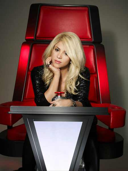 Shakira The Voice Coach First Look: Usher & Shakira Take Their Seats On The Voice