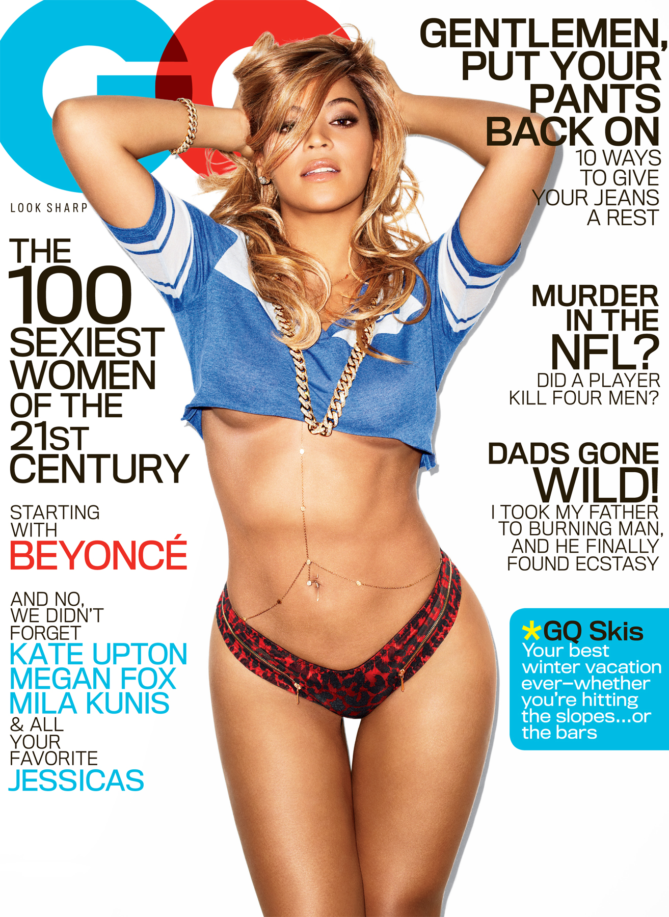 beyonce gq 2013 thatgrapejuice Beyonce Covers GQs 100 Sexiest Women Of The 21st Century