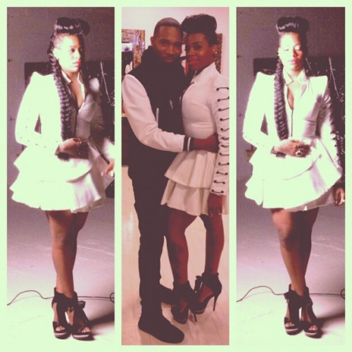fantasia lose to win vid e1357581959119 Hot Shots: Fantasia On Set Of Lose To Win Video