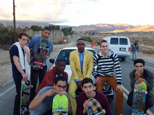 Hot Shots: Frank Ocean Shoots Forrest Gump Video Ahead Of Grammy Performance