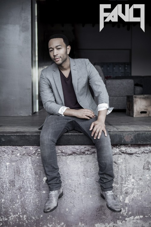Hes Back: John Legend Poses For Fault / Talks New Album Love In The Future