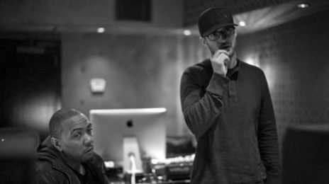 Hot Shots: Justin Timberlake Records 'The 20/20 Experience' With Timbaland