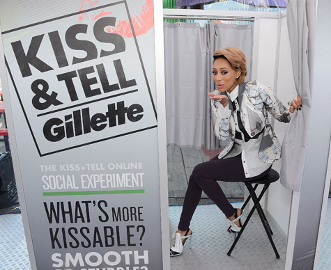 Hot Shot: Keri Hilson Joins Gillette For Kiss & Tell Experiment