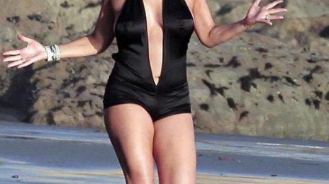 She Is Diva: Mariah Carey Debuts New Beach Body