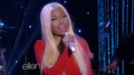 Watch: Nicki Minaj Belts Out 'Freedom' On 'Ellen'