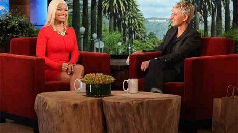 Watch: Nicki Minaj Talks Love, Life & 'Idol' On 'Ellen'