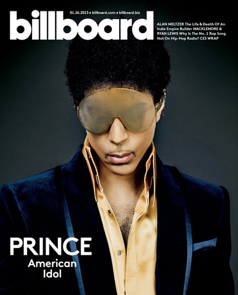 prince billboard 2013 11 Prince Covers Billboard Magazine