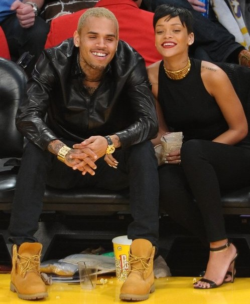 rihanna chris brown 2013 e1359554140921 Must Read: Rihanna Talks Rekindled Chris Brown Romance In Rolling Stone